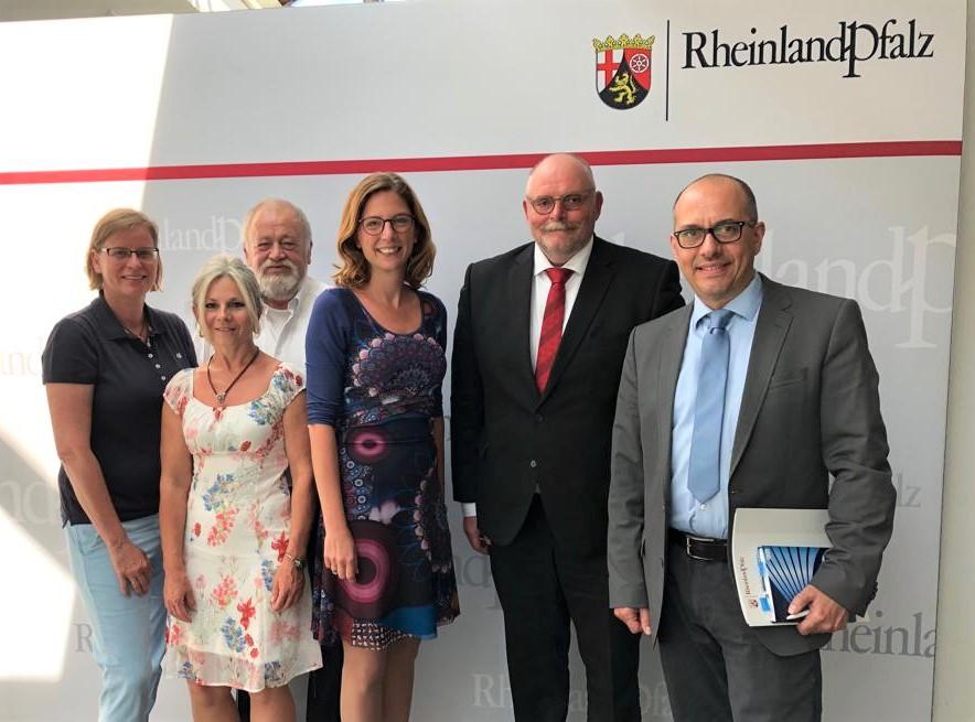 VDB-Bundesvorsitzender und Ministerin von RLP