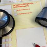 Formular Arbeitsunfaehigkeitsbescheinigung