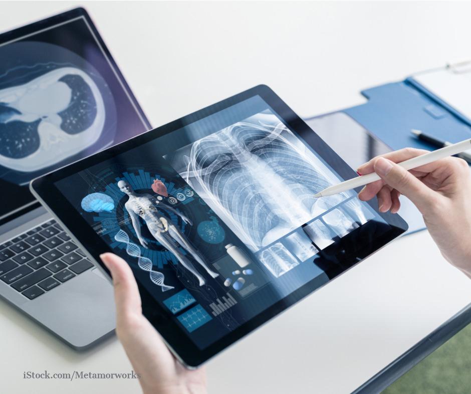 Abbildung einer elektronischen Patientenakte